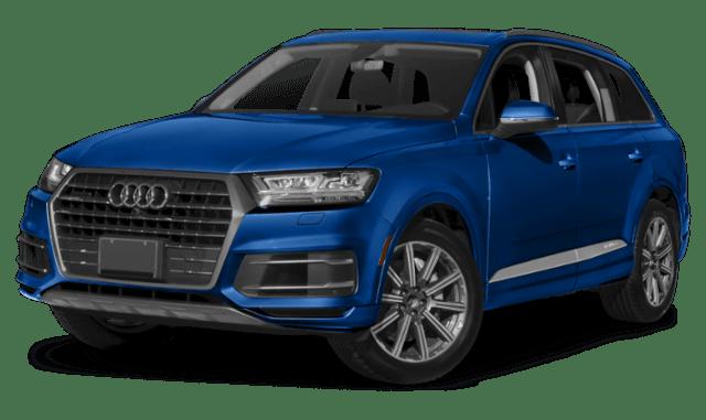 2019 Audi Q7 in Blue