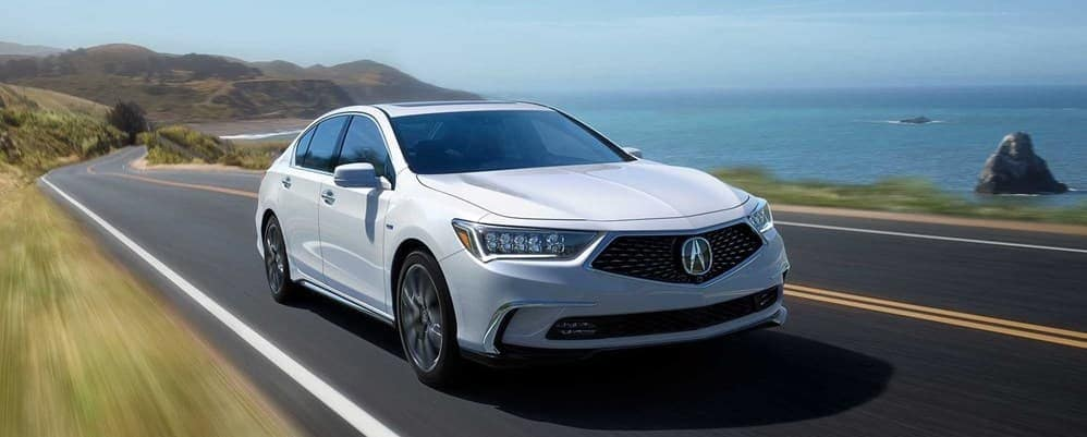 2019 Acura RLX with a white exterior