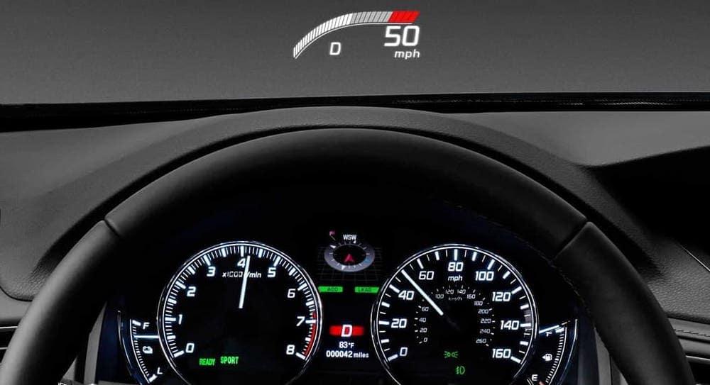 2019 Acura RLX Head Up Display