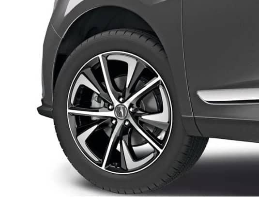 Acura 20-in Black Diamond-Cut Alloy Wheels
