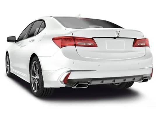 Acura Rear underbody spoiler accessory