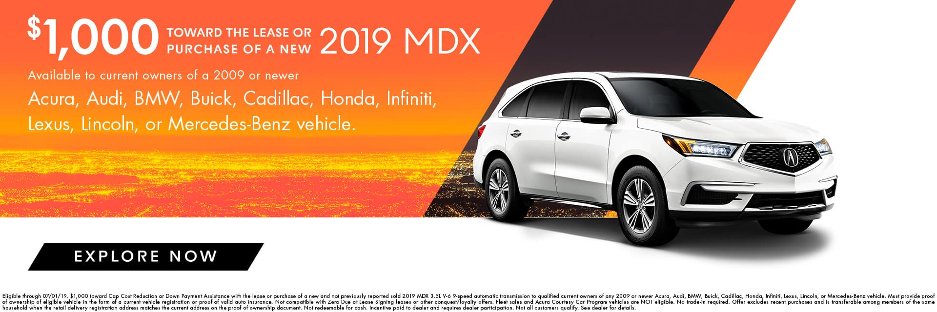 mdx loyalty offer