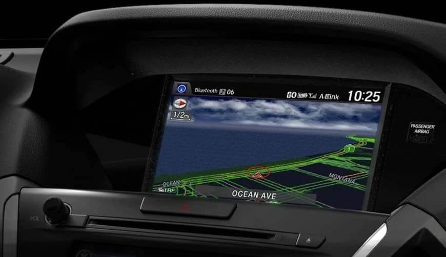 2019 Acura MDX Technology navigation system