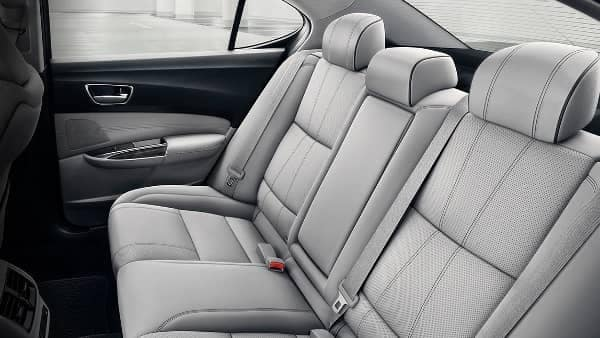 rear seats in 2020 Acura TLX