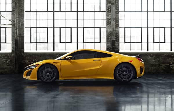 2020 NSX in Indy Yellow Pearl