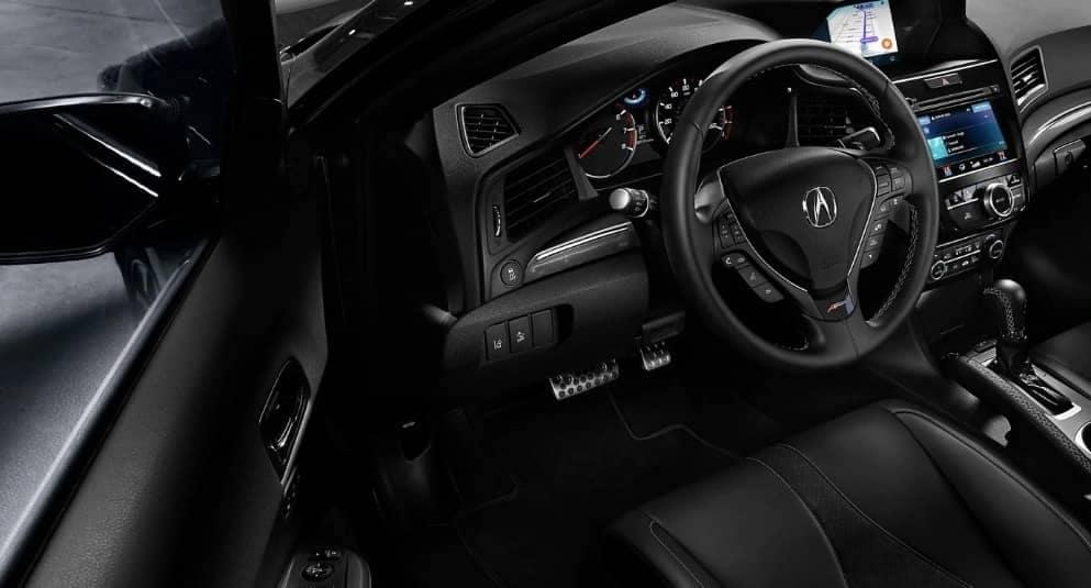 2019 Acura ILX ebony interior