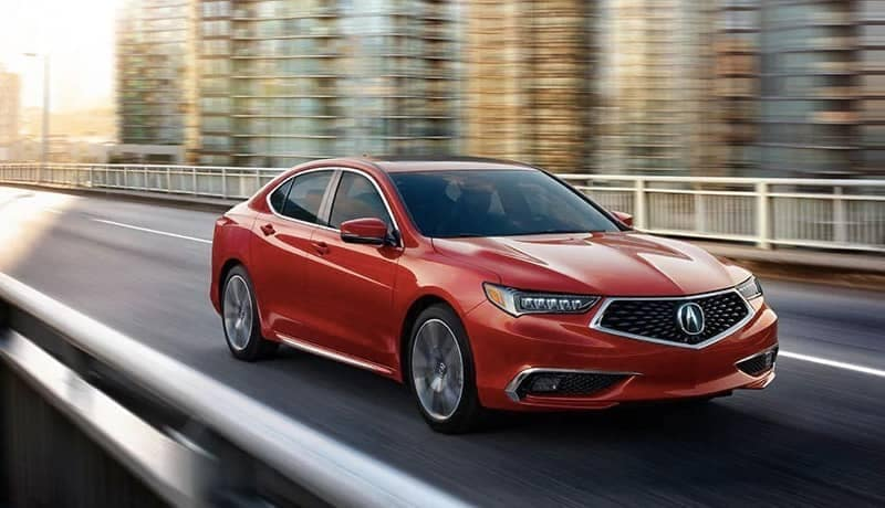 2020 Acura TLX in Red Pearl