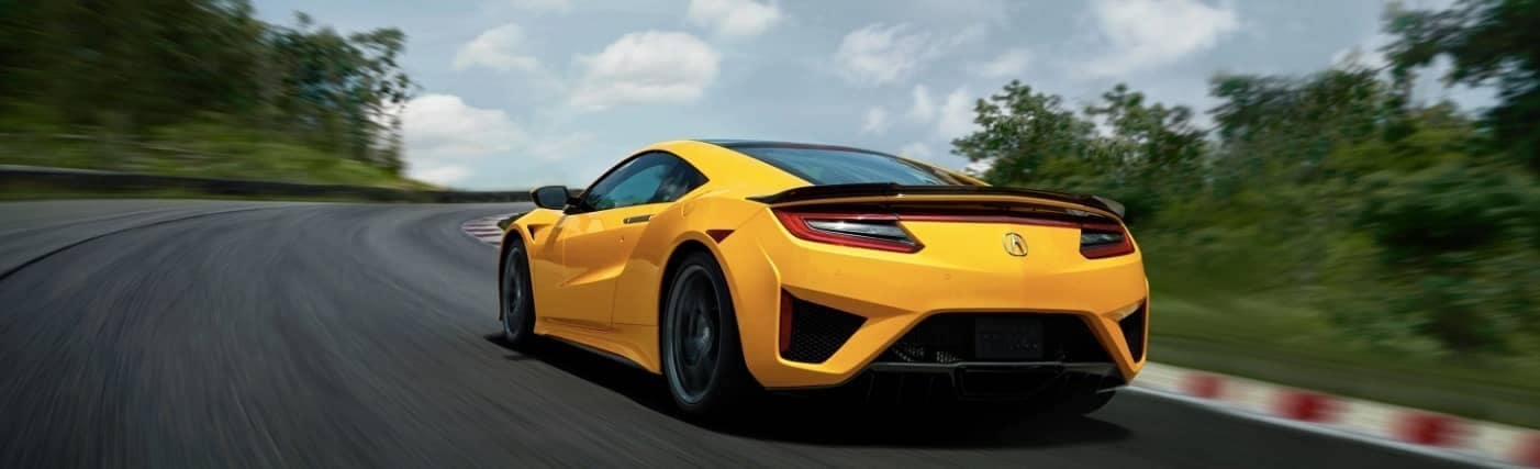 2020 Acura NSX rear view
