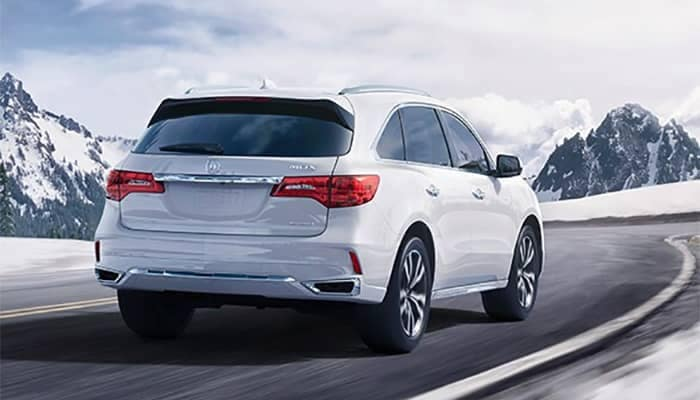 Acura MDX Driving