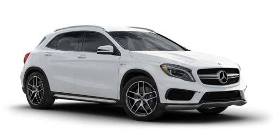2017 GLA45 AMG 4M