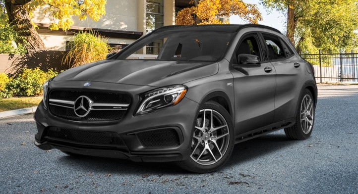 Demo 2017 Mercedes-AMG GLA 45 4MATIC SUV with Premium and AMG Driver's Packages, Total Price $59,479