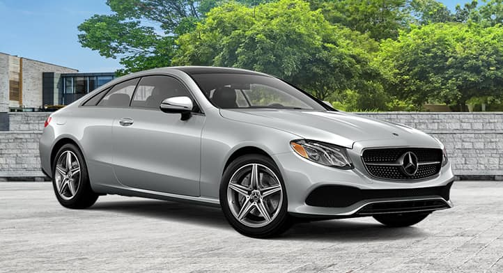 2018 E 400 4MATIC Coupe with Premium Package, Total Price $81,009