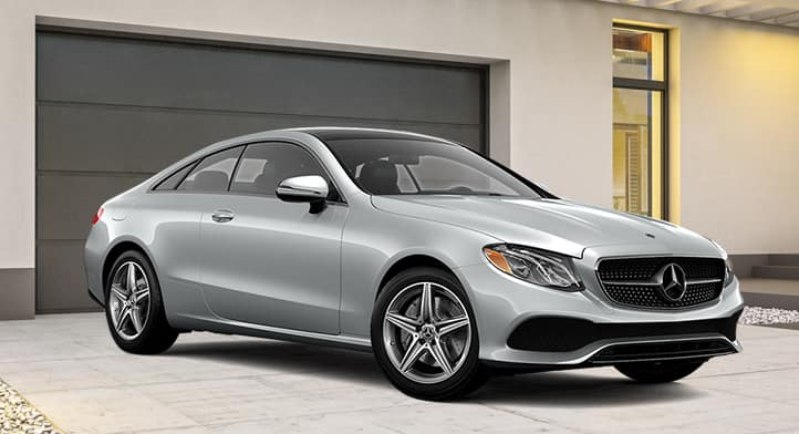 2018 E 400 4MATIC Coupe with Premium Package, Total Price $76,959