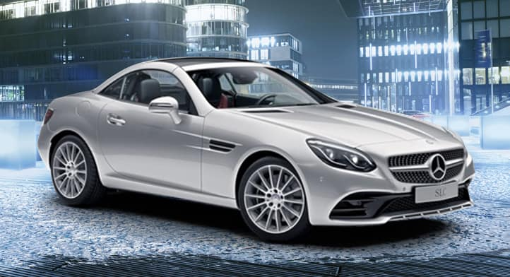 2018 SLC 300 Roadster with Premium Package, Total Price $71,294