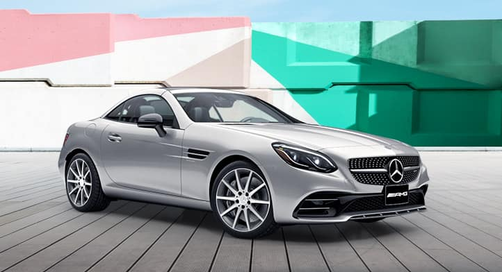 2019 Mercedes-AMG SLC 43 Roadster with Premium Package, Total Price $83,447