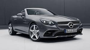 2020 Mercedes SLC 300 Hardtop Convertible with Premium & Night Packages