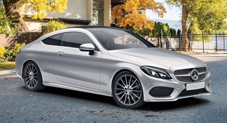 2017 C 300 4MATIC Coupe with Premium and Sport Packages, Total Price: $61,909.15