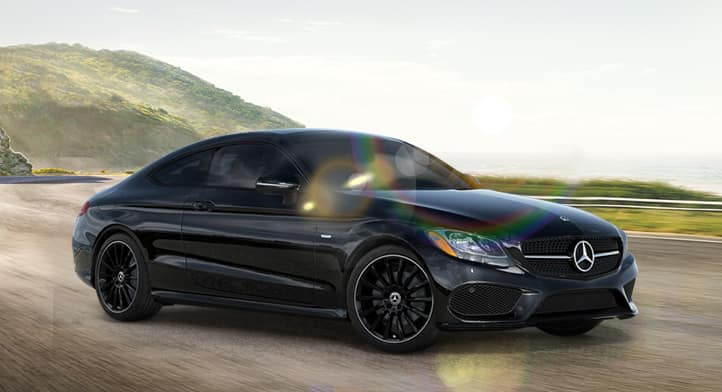 2018 C 300 4MATIC Coupe with Premium, Surround Sound and Night Edition Packages, Total Price: $56,079