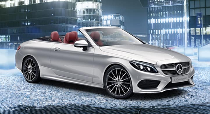 2018 C 300 4MATIC Cabriolet demo with Premium, Sport and Intelligent Drive Packages, Total Price: $68,114
