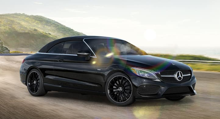 2018 C 300 4MATIC Cabriolet with Premium, Surround Sound and Night Edition Packages, Total Price: $67,399