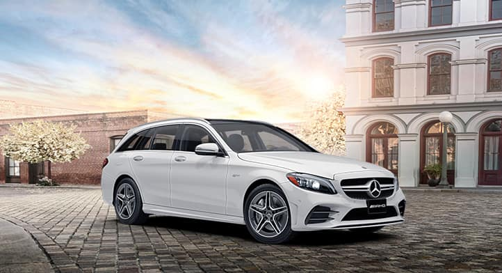2021 Mercedes-AMG C43 4MATIC Wagon Avantguard Edition with Night + Driver's Packages