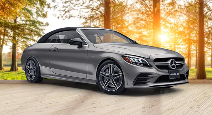 Demo 2019 Mercedes-AMG C 43 4MATIC Cabriolet with Premium + Intelligent Drive Packages, Total Price: $80,811