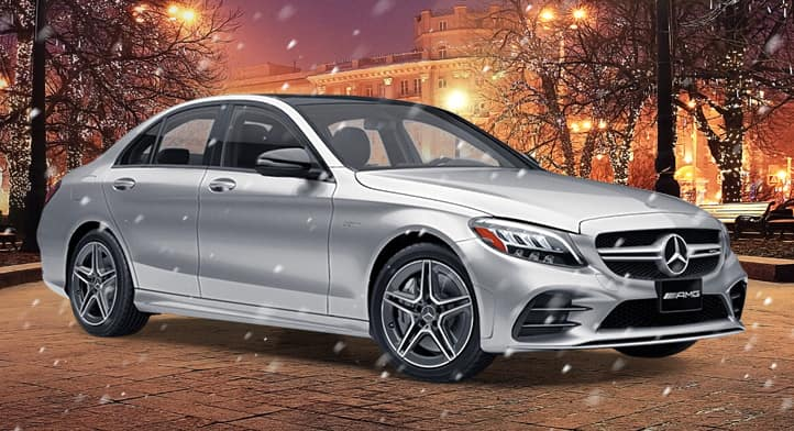 2020 Mercedes-AMG C 43 4MATIC Sedan with Premium + Technology Packages, Total Price: $74,512