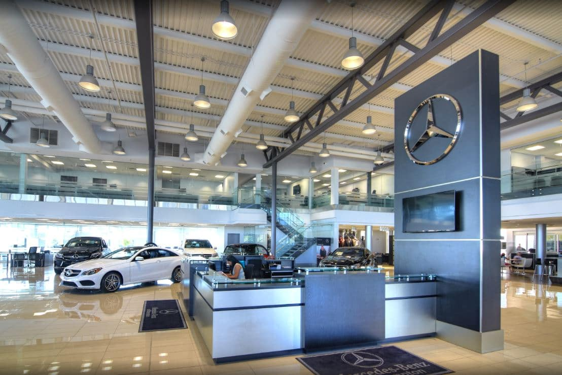 Mercedes-Benz Brampton interior