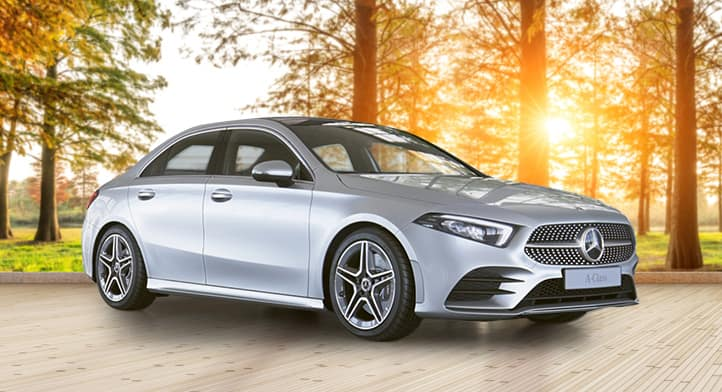 2019 A 220 Sedan with Premium + Sport + Navigation Packages, Total Price $42,391