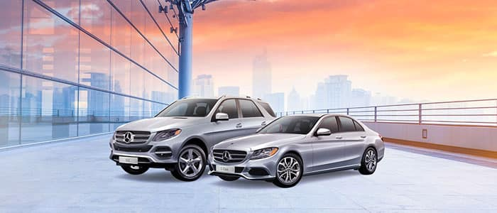 Get 0.99% financing for up to 24 months or 1.99% for 60 months on Certified Pre-owned MY16–17 Mercedes-Benz C300 Sedans*