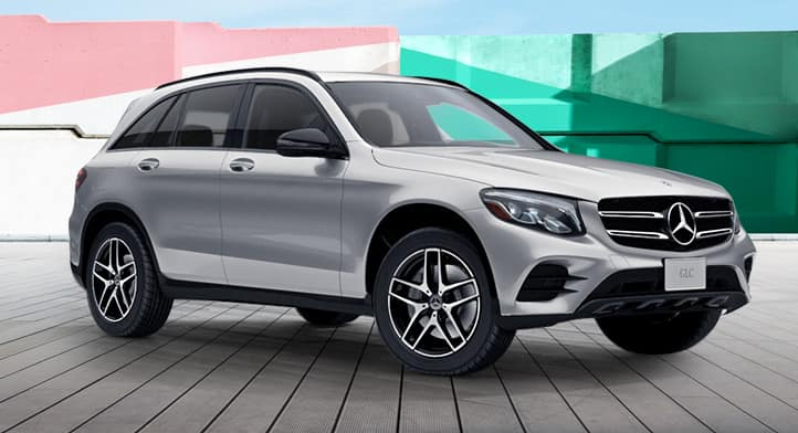 2019 GLC 300 4MATIC SUV with Premium + Night Packages, Total Price $54,597