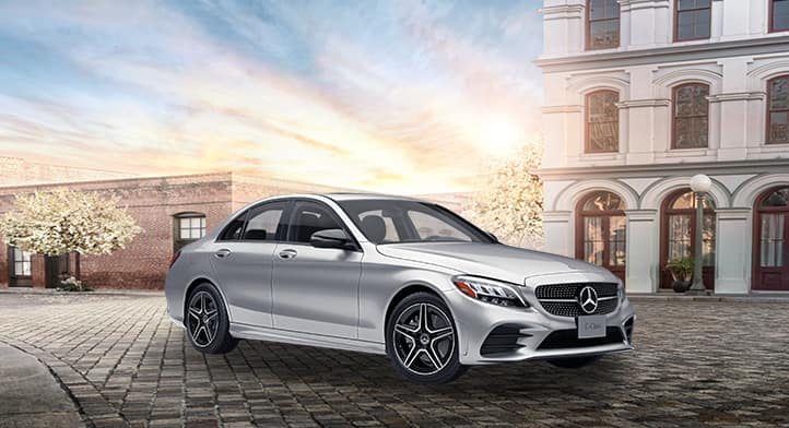 Get 0.99% financing for up to 24 months or 2.49% financing for up to 60 months on Certified Pre-owned MY17–18 Mercedes-Benz C300 Sedans*