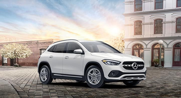 2021 GLA 250 4MATIC SUV with Premium + Navigation Packages