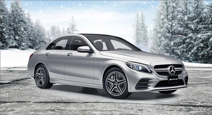 2020 Mercedes-AMG C43 4MATIC Sedan with Premium + AMG Driver's Packages