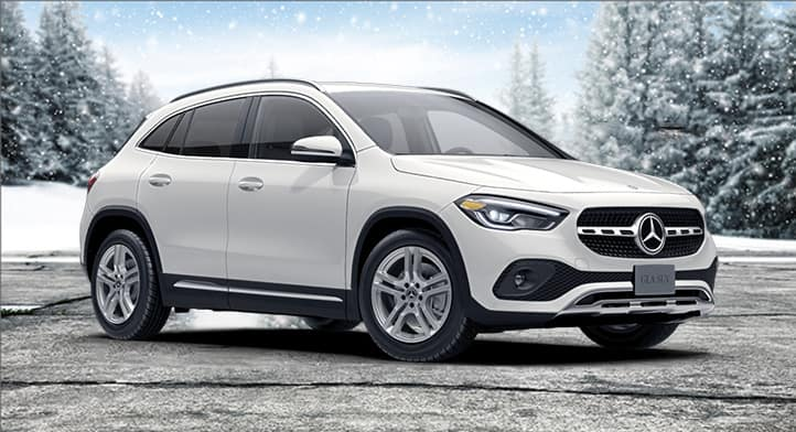 2021 GLA 250 4MATIC SUV with Premium and Navigation Packages