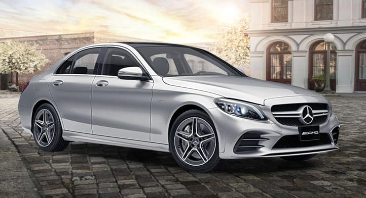 2020 Mercedes-AMG C43 4MATIC Sedan with Premium + Technology Packages