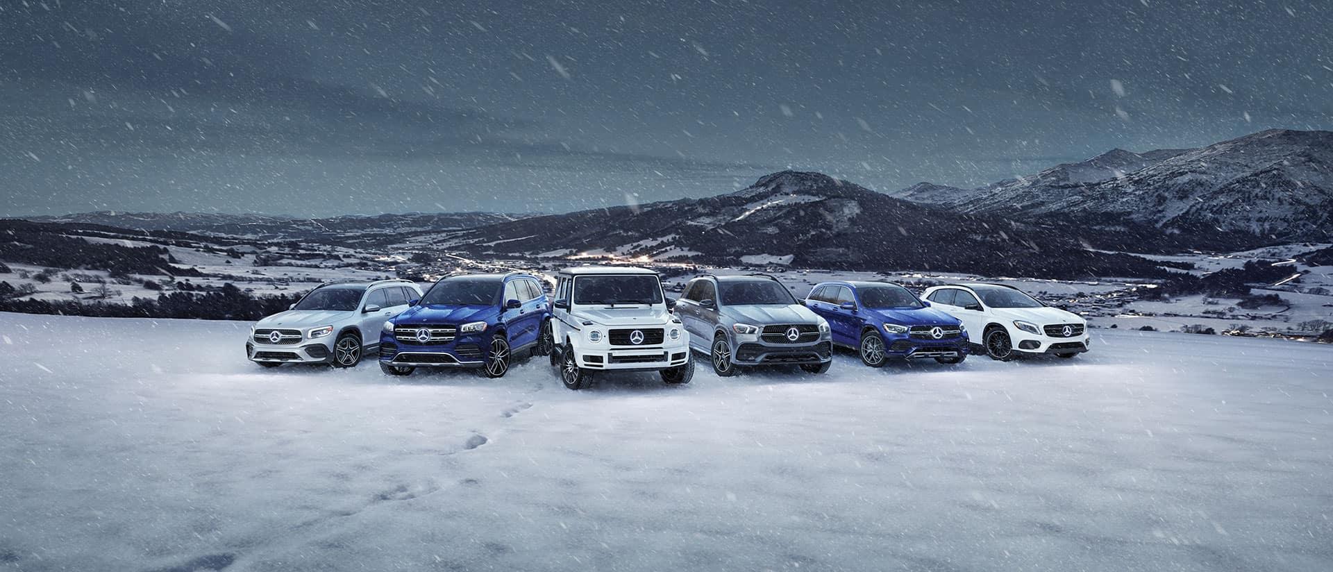Winter Event SUVs