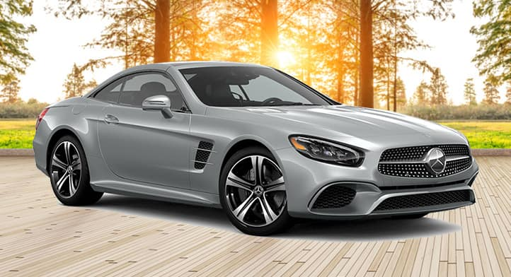 2020 Mercedes SL450 Roadster with Premium Package