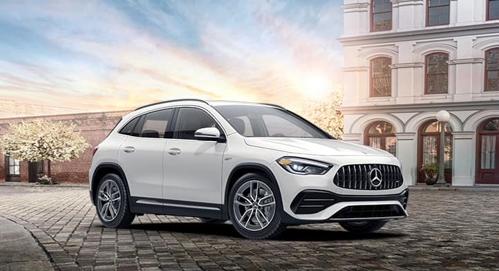 2021 Mercedes-AMG GLA 35 4MATIC SUV with Premium + Navigation Packages
