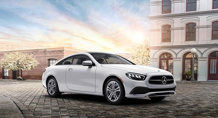 2021 Mercedes-Benz E 450 4MATIC Coupe with Premium + Technology + Night + Intelligent Drive Packages