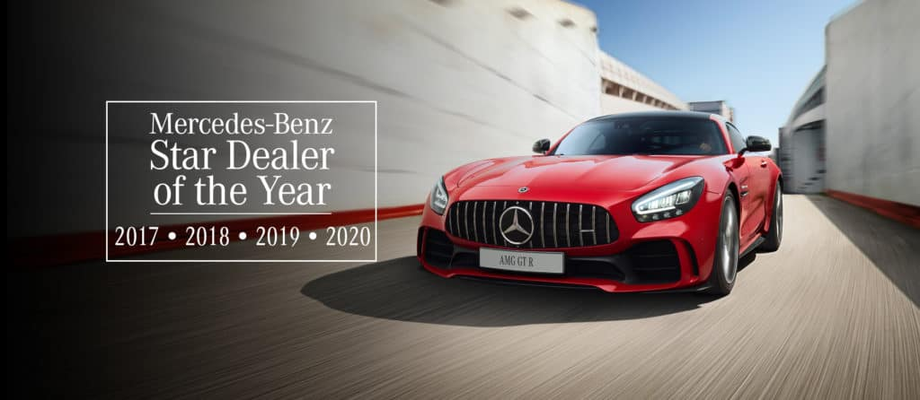 Star Dealer Award Mercedes-Benz Brampton