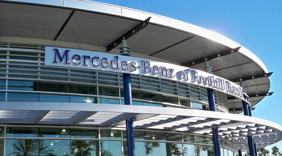 New and used car dealer irvine mercedes benz of foothill for Mercedes benz of irvine