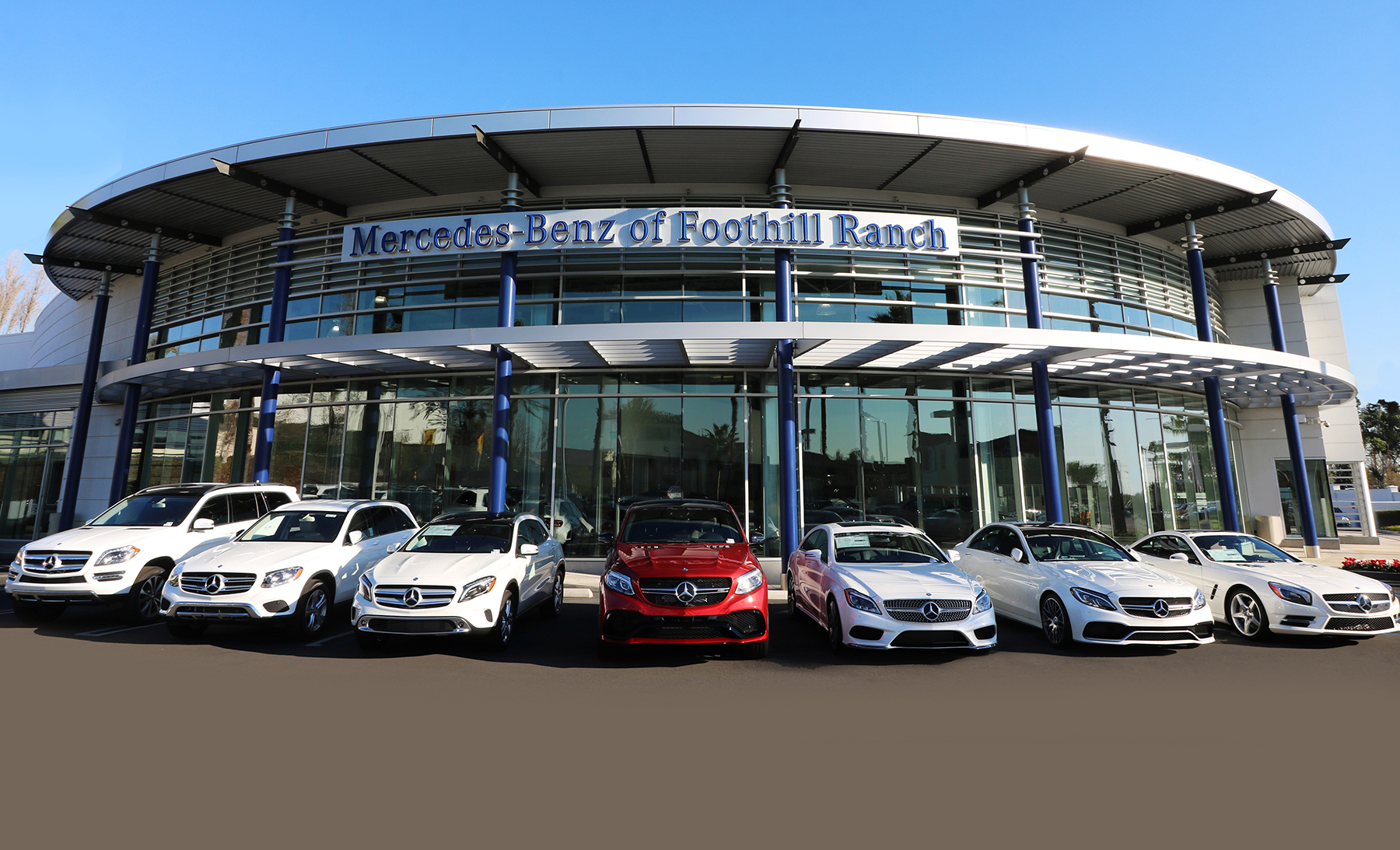 Mercedes benz of foothill ranch a reflection of for Mercedes benz dealer northern blvd