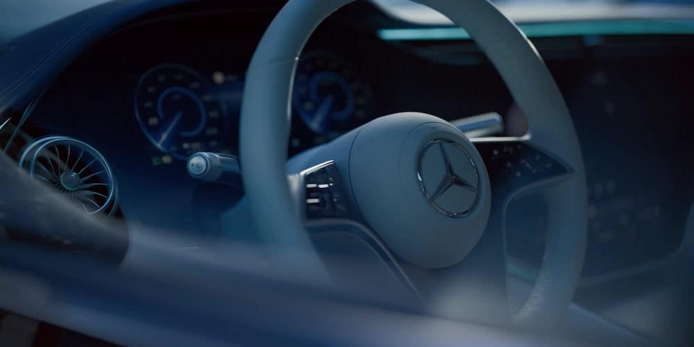 2022 Mercedes-Benz Interior Through Window