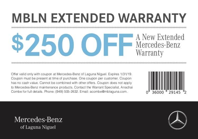 Purchase Warranty Mercedes Benz Of Laguna Niguel