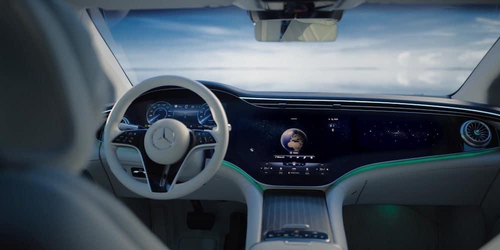 2022 Mercedes-Benz Vision EQS Front Interior
