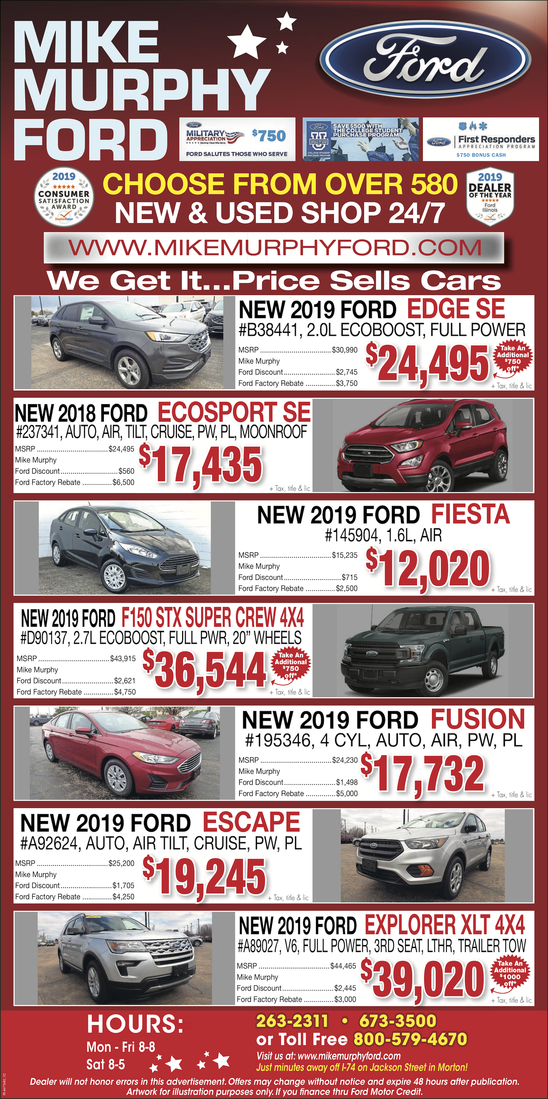 Mike Murphy Ford.New Vehicles.2.22