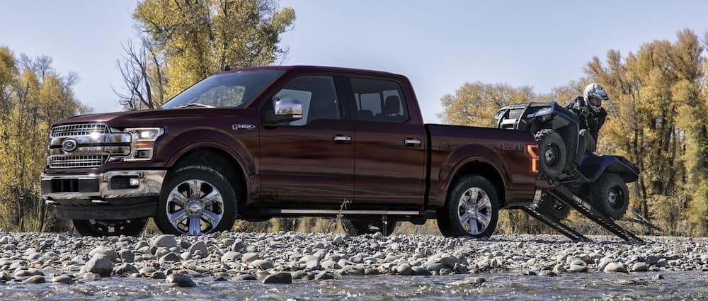 2020 Ford F-150 Bed Size