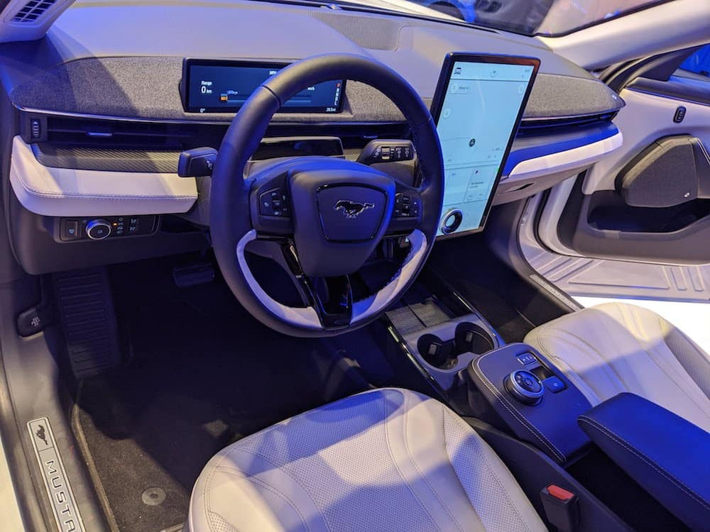 Chicago Auto Show Mustang Interior
