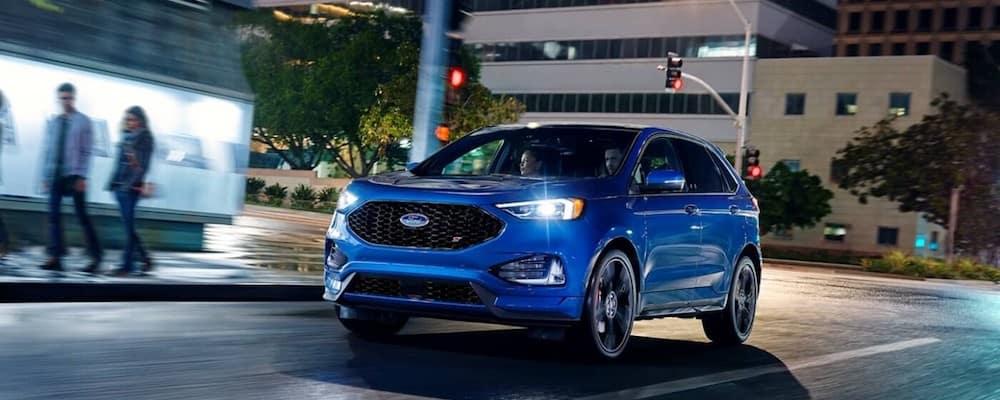 2020 Ford Edge blue
